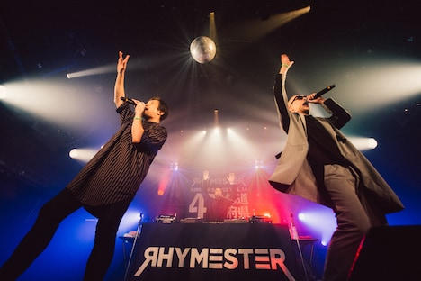 RHYMESTER(撮影:cherry chill will)