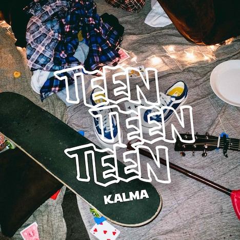 KALMA「TEEN TEEN TEEN」ジャケット