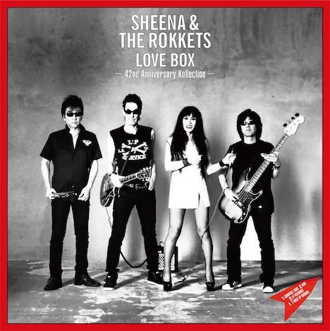 SHEENA & THE ROKKETS「LOVE BOX -42nd Anniversary Kollection-」ジャケット写真