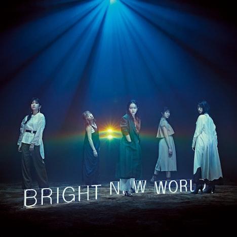 Little Glee Monster「BRIGHT NEW WORLD」初回限定盤Aジャケット