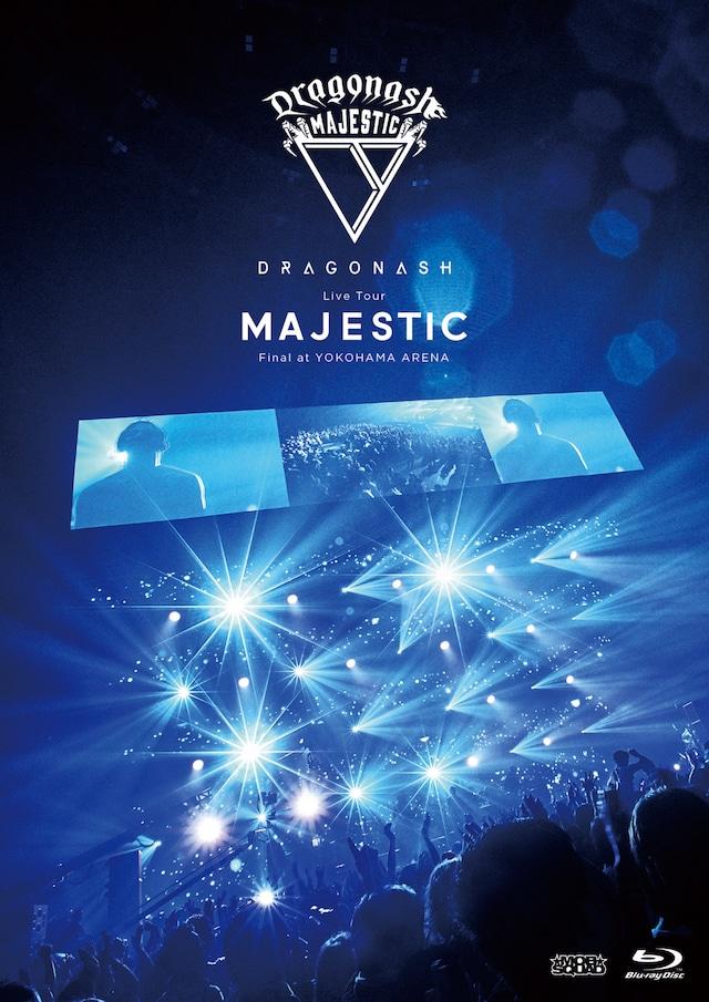 Dragon Ash「Live Tour MAJESTIC Final at YOKOHAMA ARENA」Blu-rayジャケット