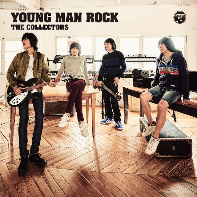 THE COLLECTORS「YOUNG MAN ROCK」ジャケット