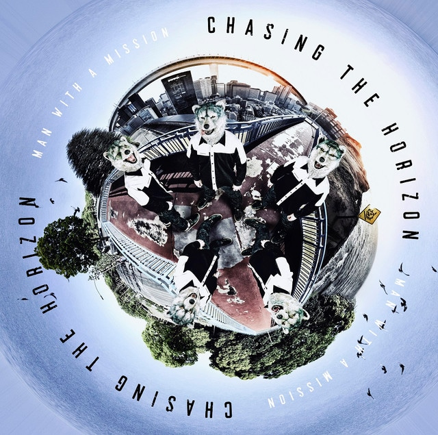MAN WITH A MISSION「Chasing the Horizon」通常盤ジャケット