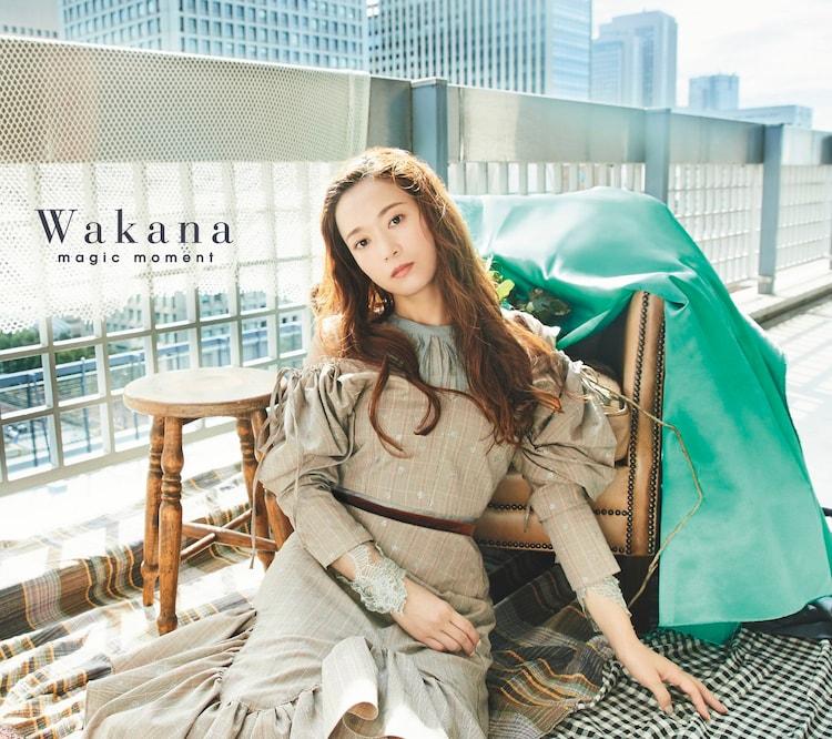 Wakana「magic moment」初回限定盤Aジャケット