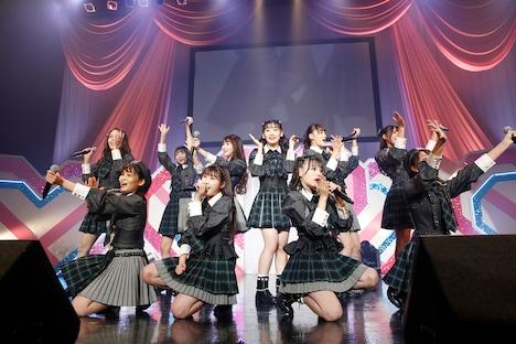「=LOVE Winter Tour『866』」東京・Zepp Tokyo公演の様子。(写真提供:代々木アニメーション学院)