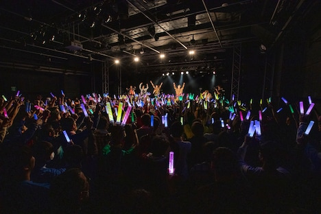 「BULLET TRAIN BOYS GIG Vol.06」の様子。(撮影:米山三郎)
