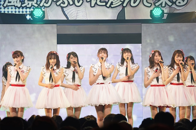 「NGT48選抜メンバーコンサート ~TDC 選抜、合宿にて決定。初めての経験~」の様子。(c)AKS