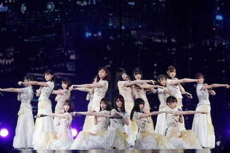 「NOGIZAKA46 Live in Taipei 2020」の様子。