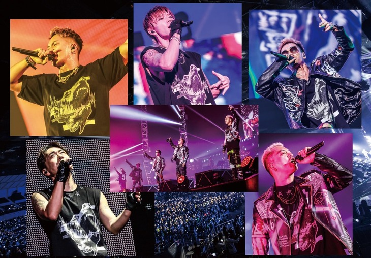 DOBERMAN INFINITY「DOBERMAN INFINITY LIVE TOUR 2019『5IVE ~必ず会おうこの約束の場所で~』」ビジュアル