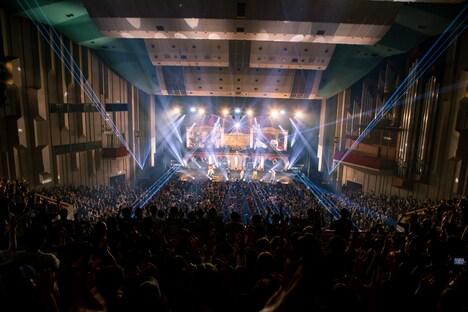 BiSH「NEW HATEFUL KiND TOUR」NHKホール公演の様子。(Photo by sotobayashi kenta)
