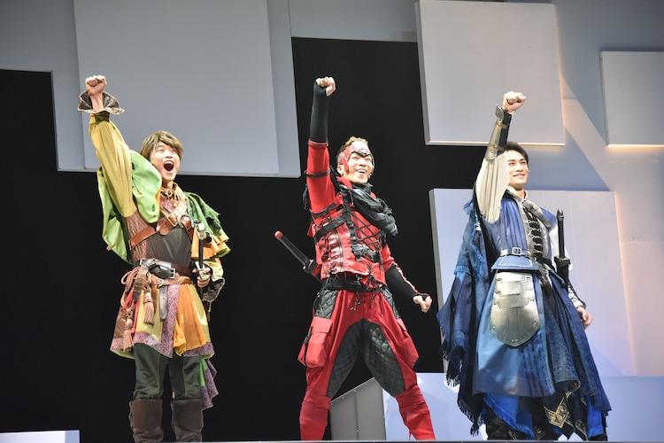 劇団EXILE「勇者のために鐘は鳴る」公開ゲネプロより。