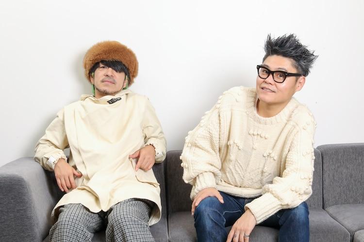 "LOW IQ 01と松田""CHABE""岳二。"