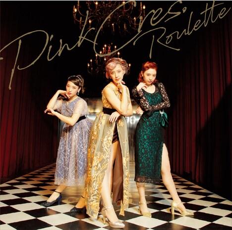 PINK CRES.「ルーレット」初回限定盤ジャケット