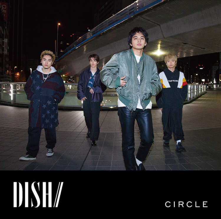 DISH//「CIRCLE」初回限定盤Cジャケット