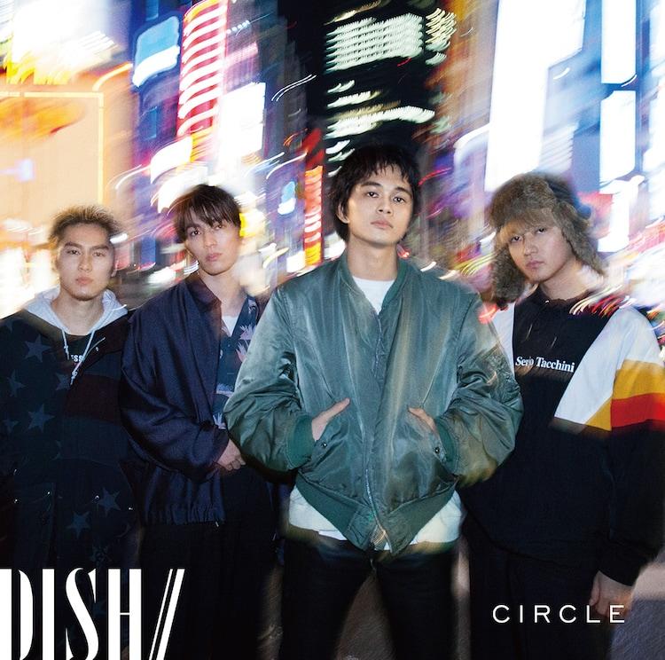 DISH//「CIRCLE」通常盤ジャケット