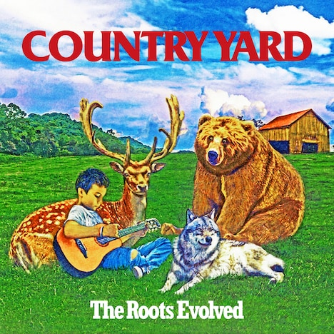 COUNTRY YARD「The Roots Evolved」ジャケット