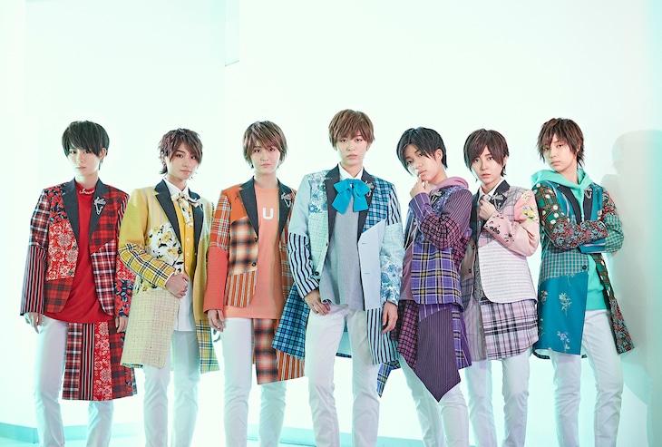 風男塾。左から2番目が香月大弥、右から2番目が桜司爽太郎。