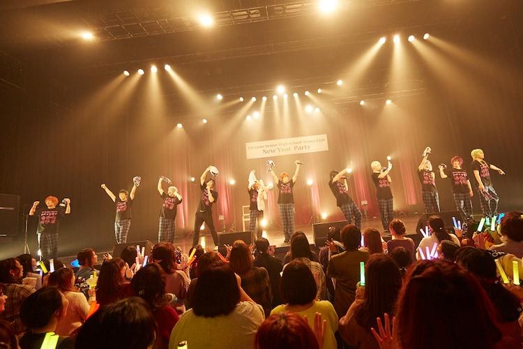 アンコールに登場したアルスマグナとクロノス学園ダンス部。(Photo by NAITO)