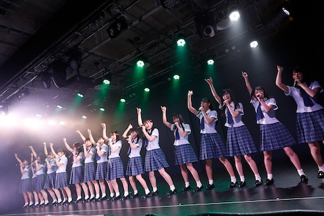 STU48 2期研究生「僕の太陽」公演の様子。(c)STU