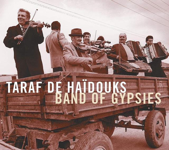 Taraf De Haidouks「Band Of Gypsys」ジャケット(写真提供:石田昌隆)