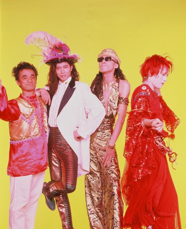 シングル「ナイトトリッパー・イェー!! / 最後にひとつ」」発表時のBO GUMBOS。