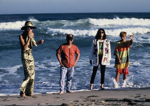 「HOT HOT GUMBO '91」を開催した伊豆・下田の海岸にて。