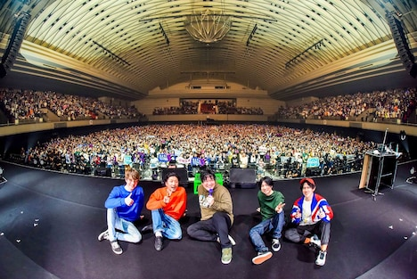 「OKAZAKI ROCK FESTIVAL 2020」出演者たち。