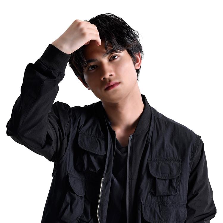 板垣瑞生(ex. M!LK)演じる土方歳鬼。