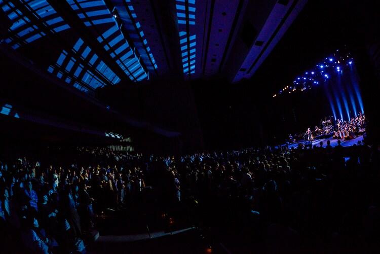 佐藤竹善「Rockin' It Jazz Orchestra ~Live in Tokyo & Osaka~」の様子。