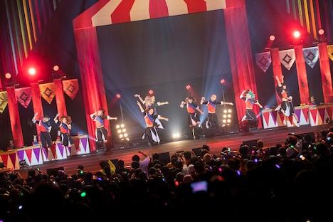 GANG PARADE「PARADE GOES ON TOUR」中野サンプラザホール公演の様子。