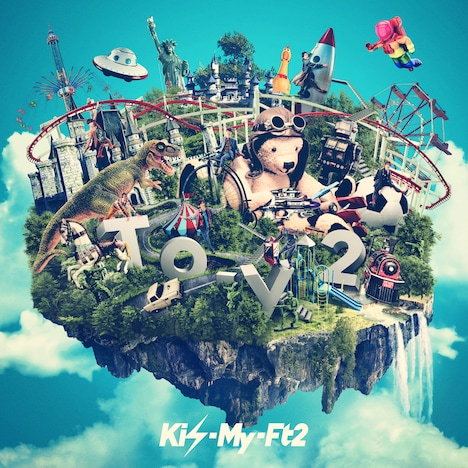 Kis-My-Ft2「To-y2」初回限定盤Aジャケット