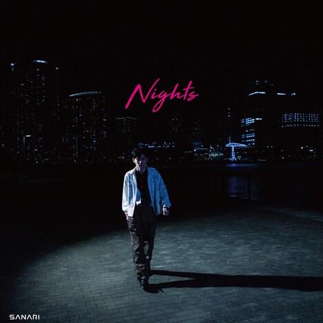さなり「Nights(feat. OZI & eill)」ジャケット