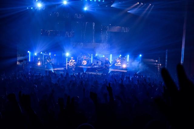 2月14日のLINE CUBE SHIBUYA(渋谷公会堂)公演の様子。(Photo by MASANORI FUJIKAWA)