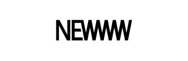 「NEWWW」ロゴ
