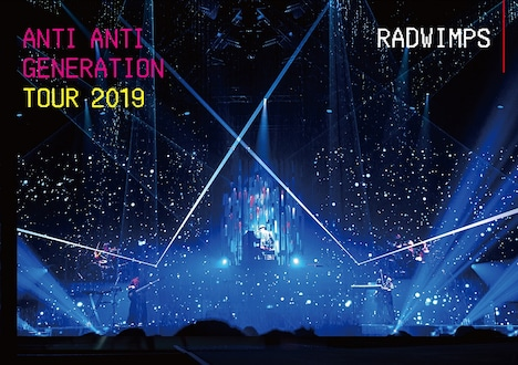 RADWIMPS「ANTI ANTI GENERATION TOUR 2019」ジャケット
