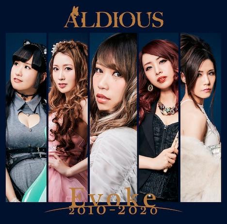 Aldious「Evoke 2010-2020」限定盤ジャケット