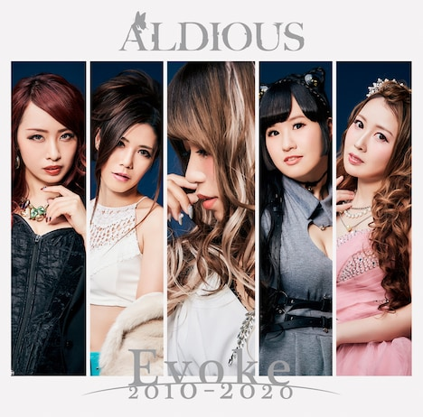 Aldious「Evoke 2010-2020」通常盤ジャケット