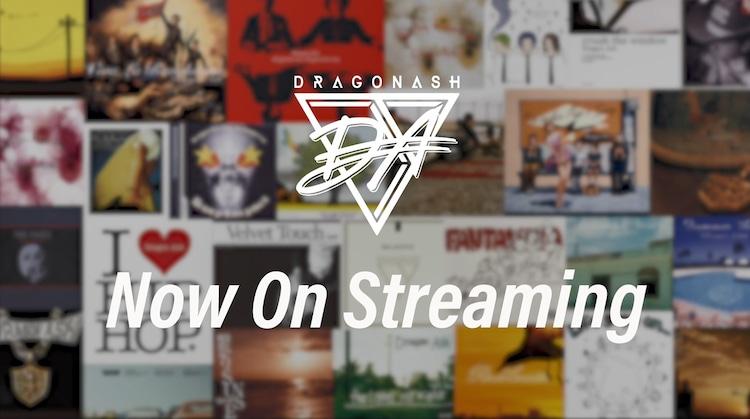 Dragon Ash過去音源ストリーミング配信告知ビジュアル