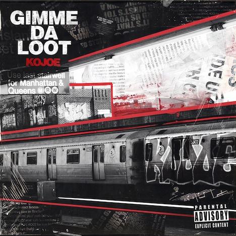 KOJOE「Gimme da loot」配信ジャケット