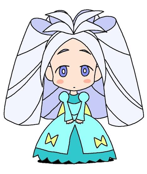 ラクガキングダムの姫。
