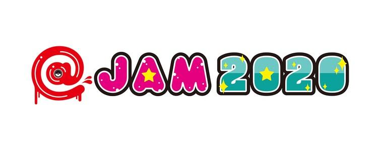 「@JAM 2020」ロゴ