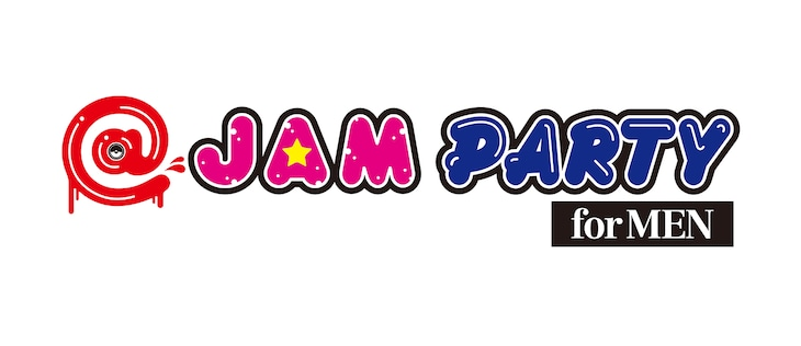 「@JAM PARTY for MEN」ロゴ