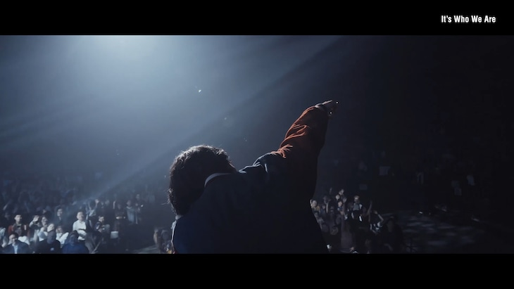 Nulbarich「It's Who We Are」ライブ映像より。