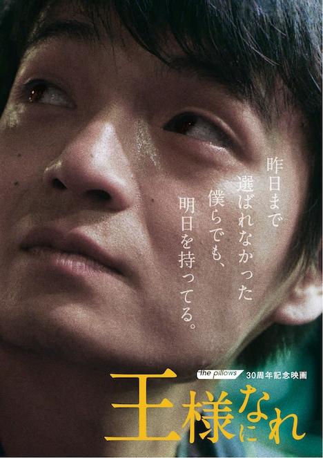 映画「王様になれ」DVDジャケット
