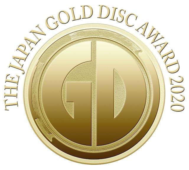 「第34回 日本ゴールドディスク大賞」ロゴ