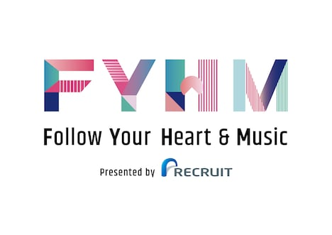 「Follow Your Heart & Music Presented by RECRUIT」ロゴ