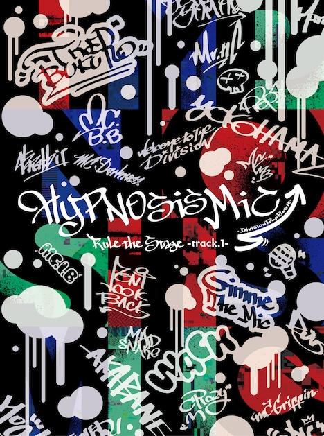 「『ヒプノシスマイク-Division Rap Battle-』Rule the Stage -track.1-」Blu-ray / DVD初回限定盤ジャケット