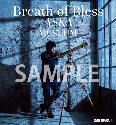 ASKAのポップアップショップ「Breath Of Bless ASKA MUSEUM」のビジュアル。