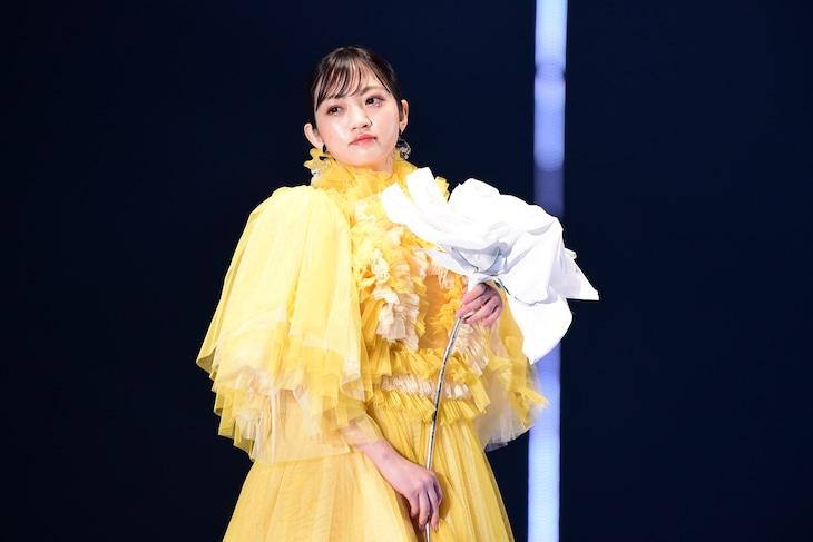 今年2月に開催された「第30回 マイナビ 東京ガールズコレクション 2020 SPRING/SUMMER」での小林莉奈(NMB48)。