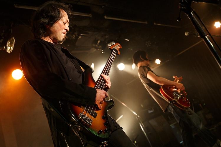 百々和宏とテープエコーズ(Photo by Chiyori)